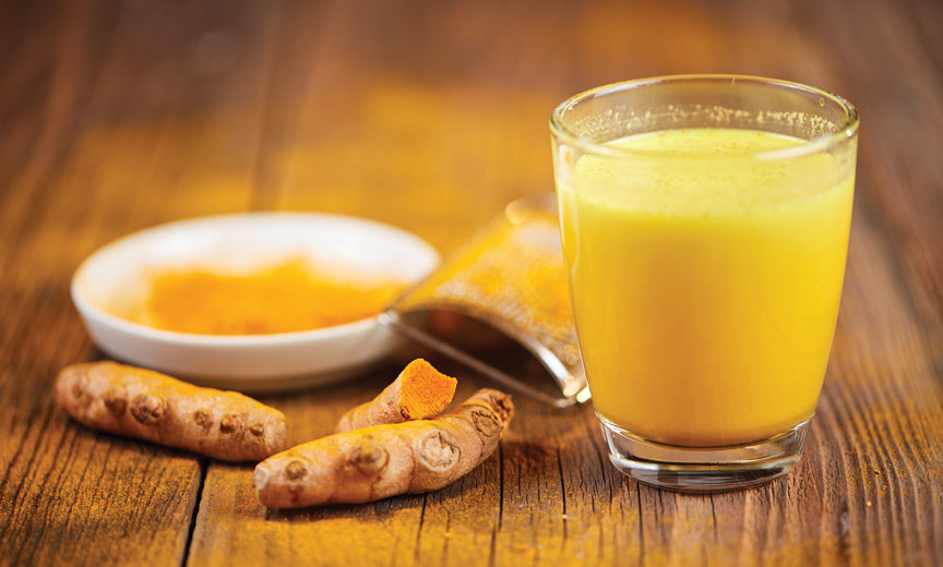 tumeric golden milk