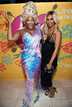 Peppermint with Laverne Cox