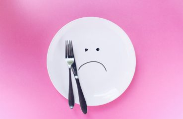 unhappy dinner plate