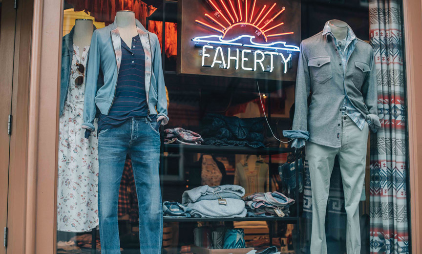 faherty bleeker store front