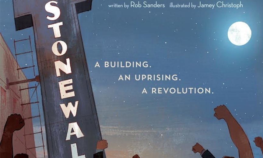 Childrens' book on the Stonewall riots
