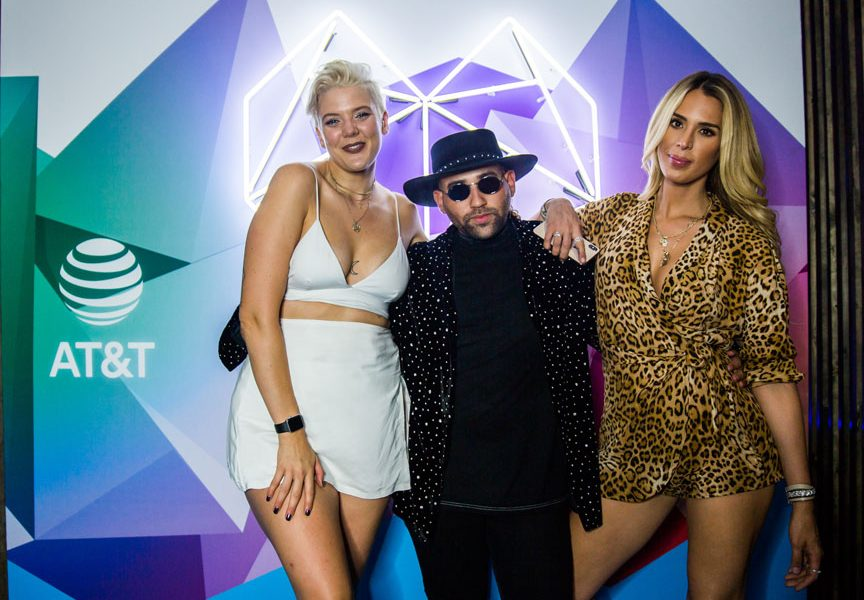 Betty Who with Parson James and Carmen Carrera