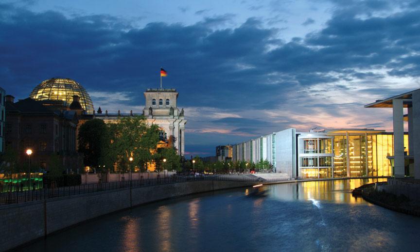The Reichstag und Paul Löbbe Haus