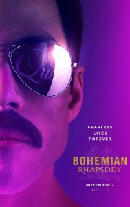 Bohemian Rhapsody now in theaters