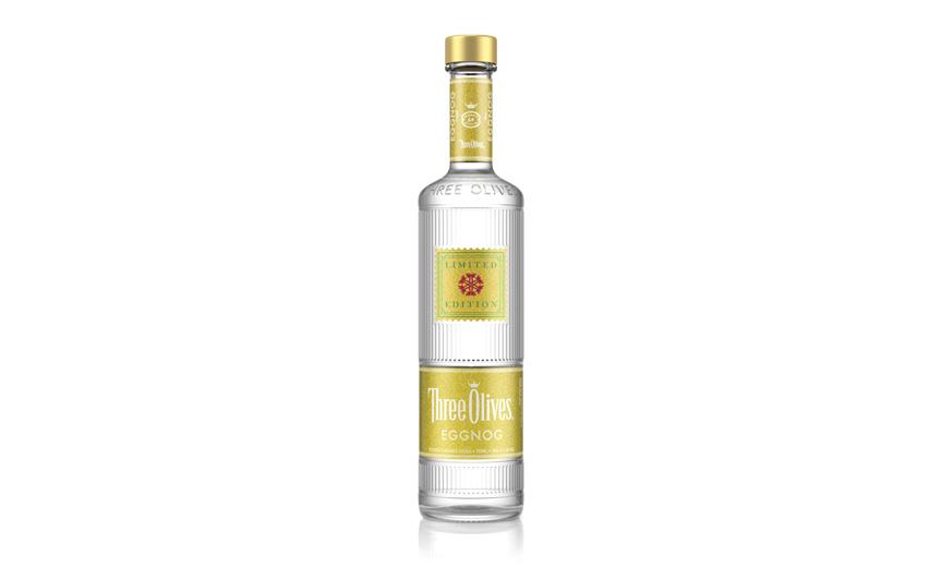 three olives eggnog vodka
