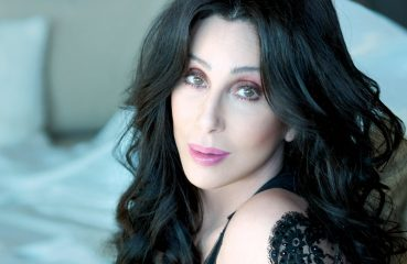 cher with black hair