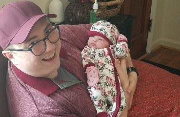 The Author with his Week-Old Niece