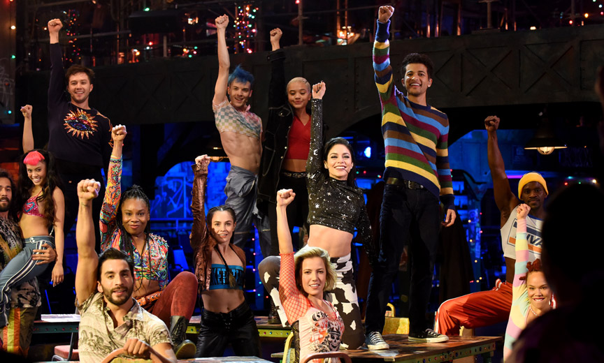 The Cast of Rent: Live