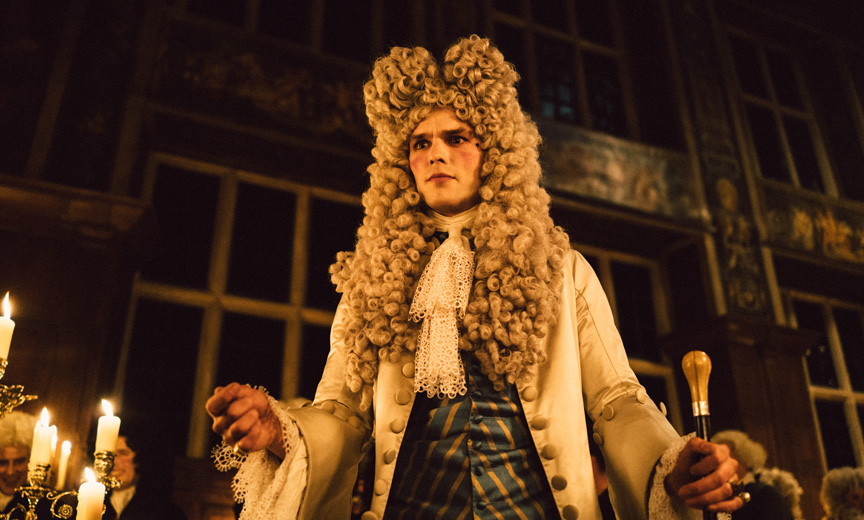 Nicholas Holt in The Favourite