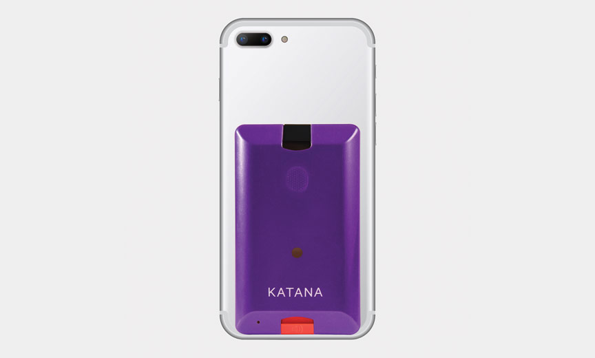 Katana Safety device on phone