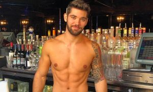 hot male bartender