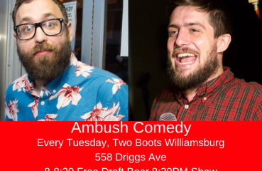 ambush comedy poster