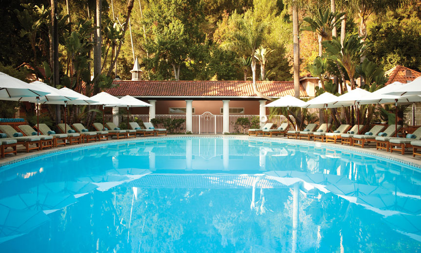 Hotel Bel-Air pool