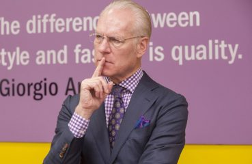 Fashion mentor Tim Gunn
