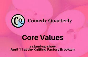 comedy quarterly poster