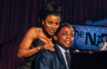 Gisela Adisa and Dulé Hill as Kitt and Cole
