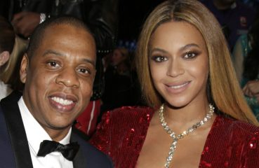 Jay-Z and Beyoncé looking rich