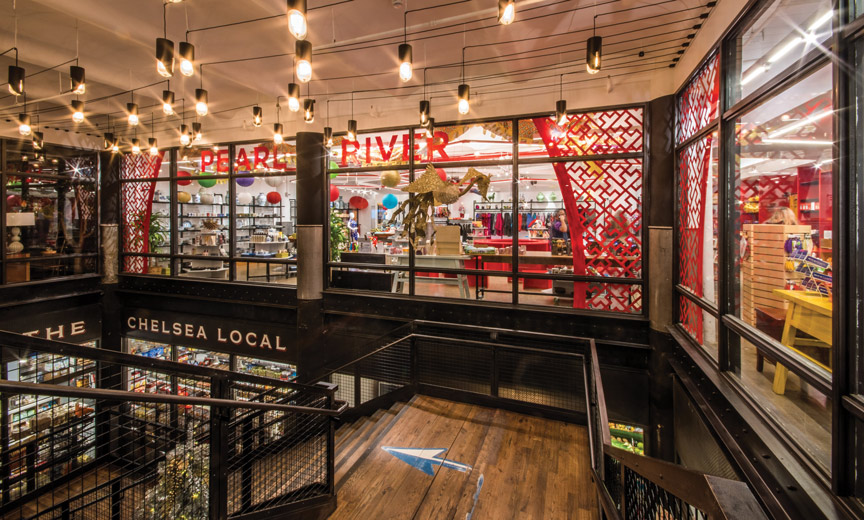 Pearl River Mart storefront in chelsea market