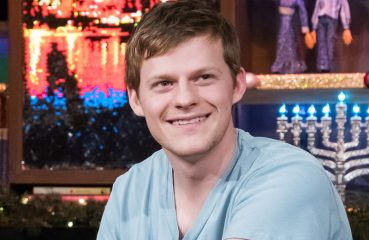 Lucas Hedges smiling