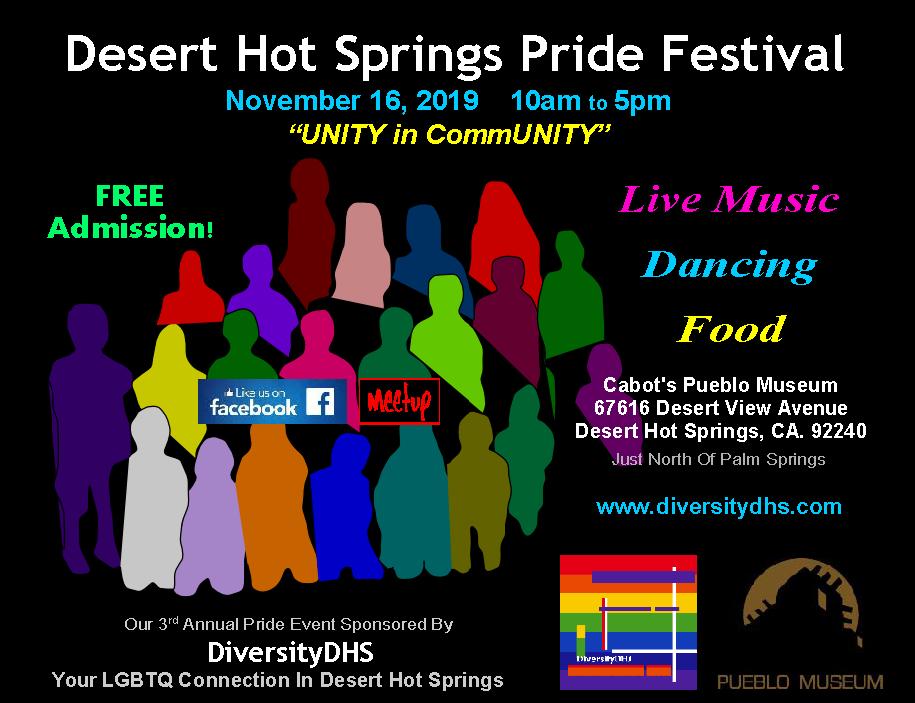 desert hot springs pride festival poster