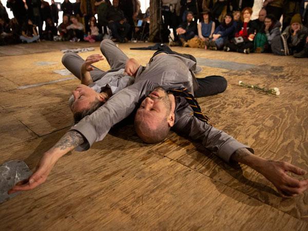 dancers on floor