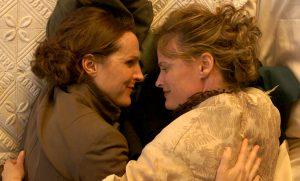 Wild Nights with Emily lesbian scene