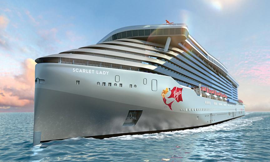 virgin ship