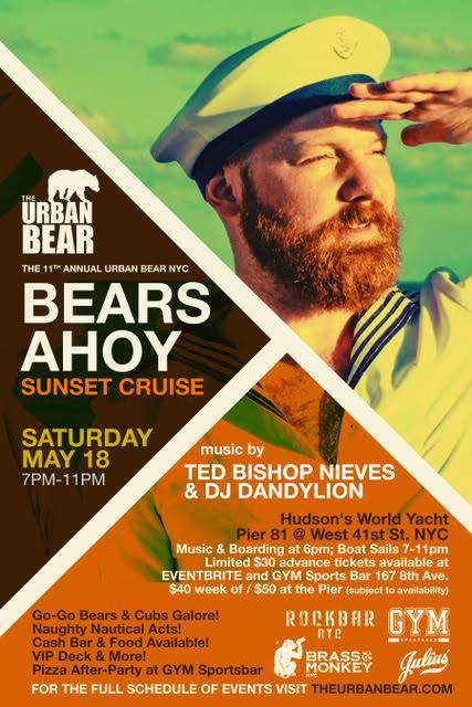 bear's ahoy poster