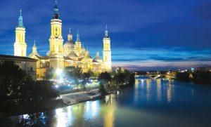 Basilica in Zaragoza, Spain