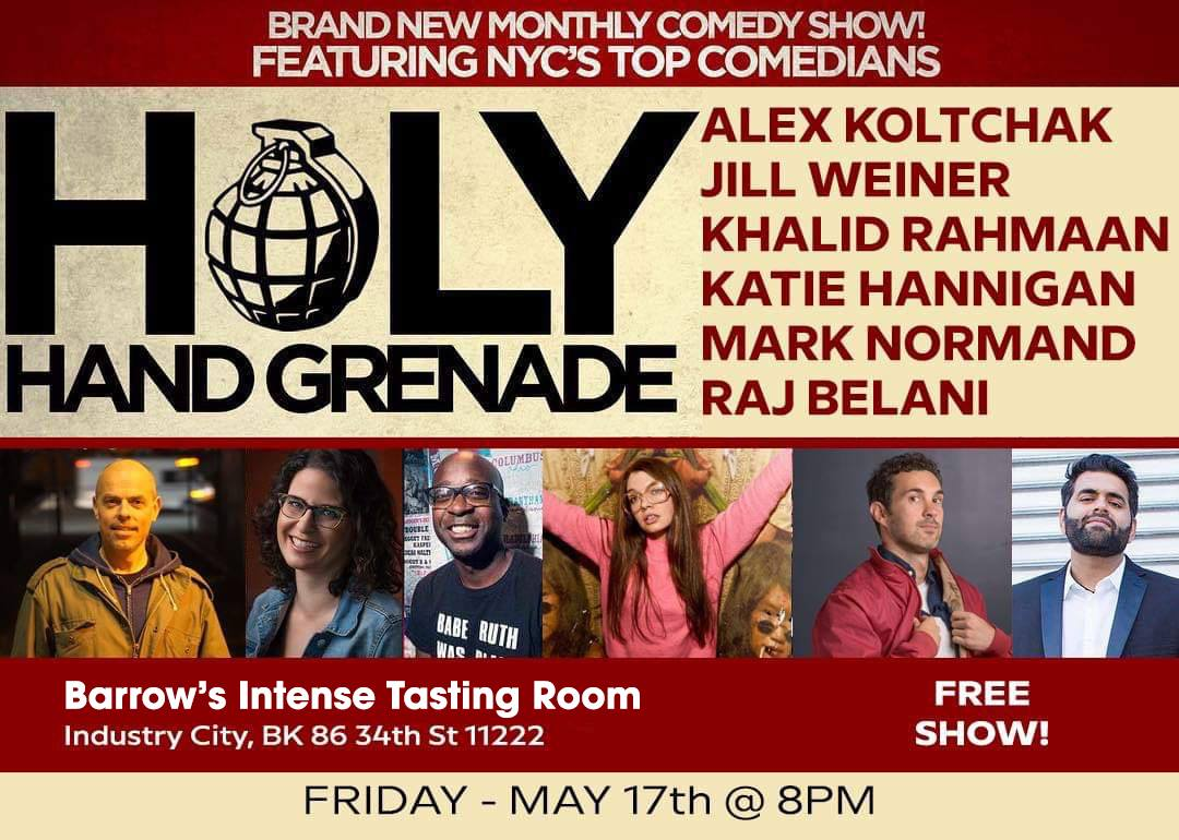 holy hand grenade poster