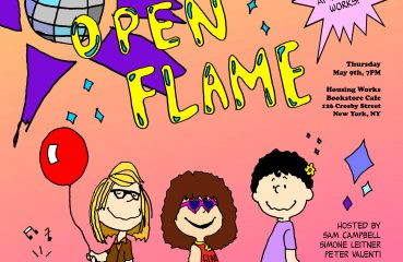 open flame poster