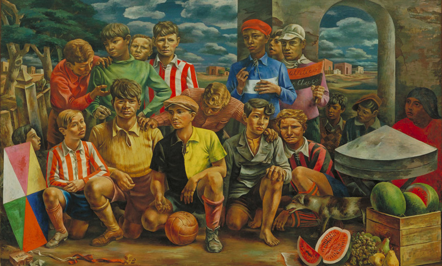 New Chicago Athletic Club by Antonio Berni