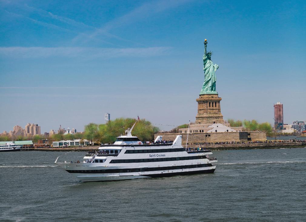 spirit cruises near the statue of liberty