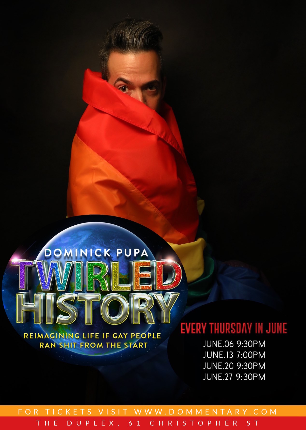 twirled history poster