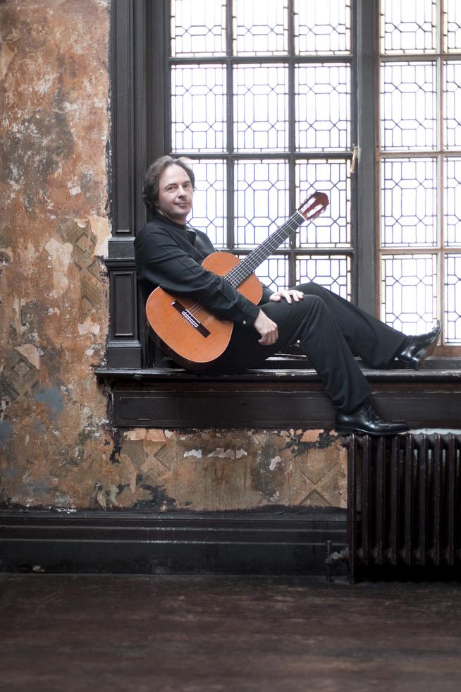 Guitarist Christoph Denoth
