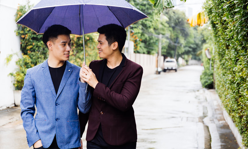 asian gay couple