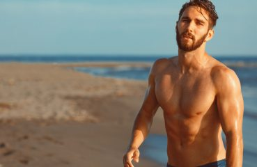 bearded beach boy