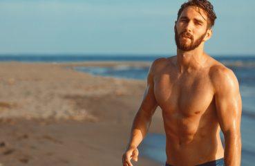 bearded beach boy