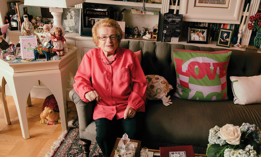 dr. ruth at home
