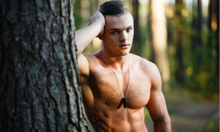 gay man in niagra woods