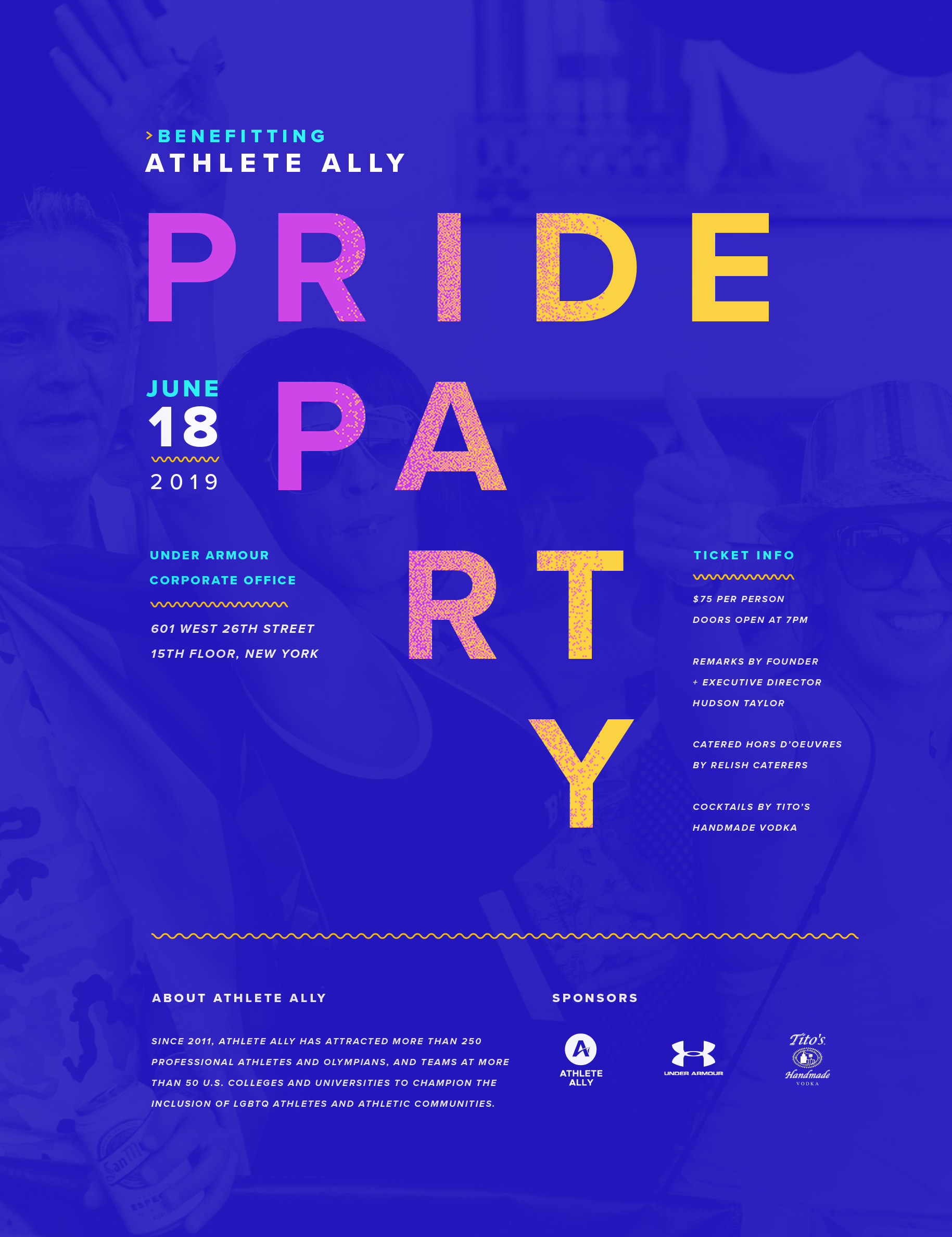 pride party poster