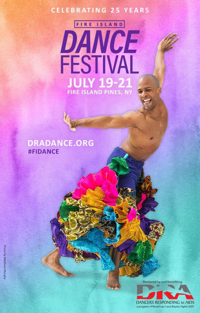 fire island dance festival poster