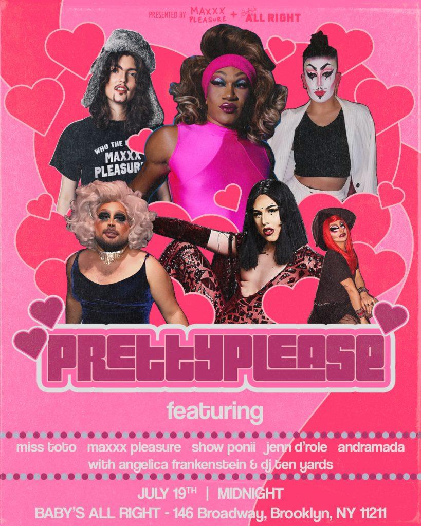 pretty please poster