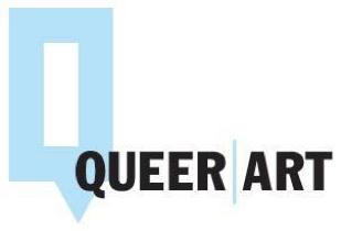 queer art blue Q logo