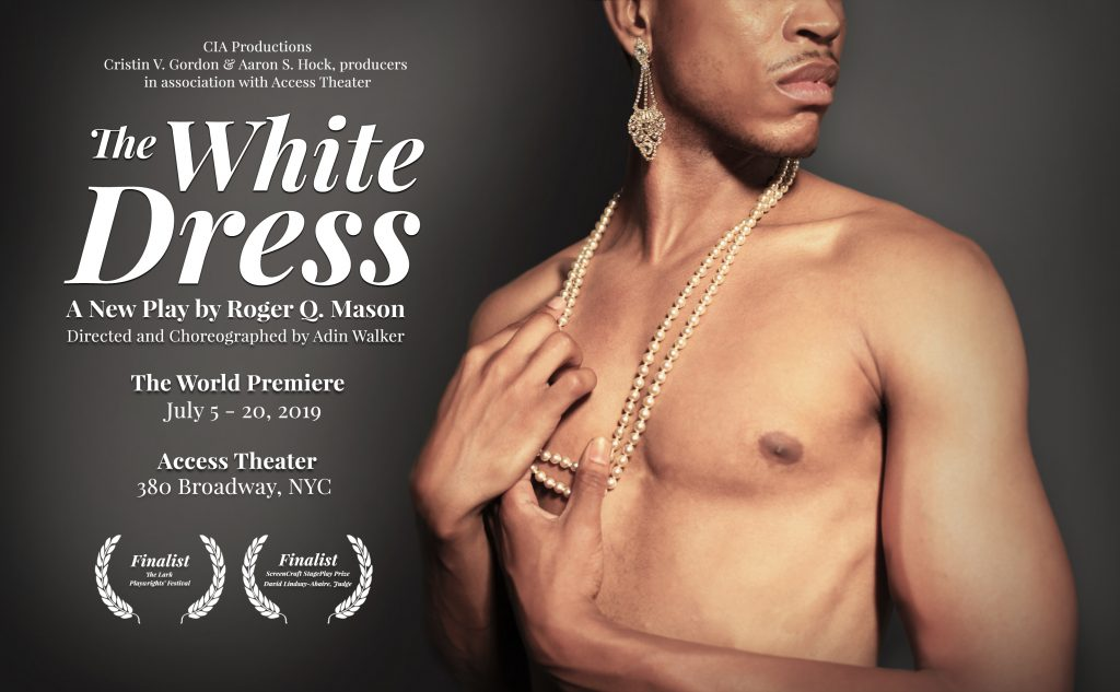 the white dress poster