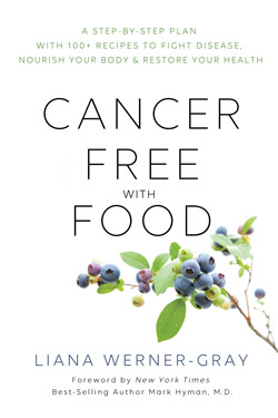 cancer free with food cover