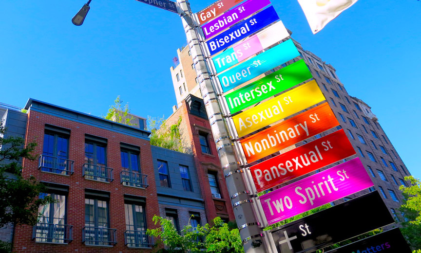 The Reinvented Corner of Christopher and Gay Streets