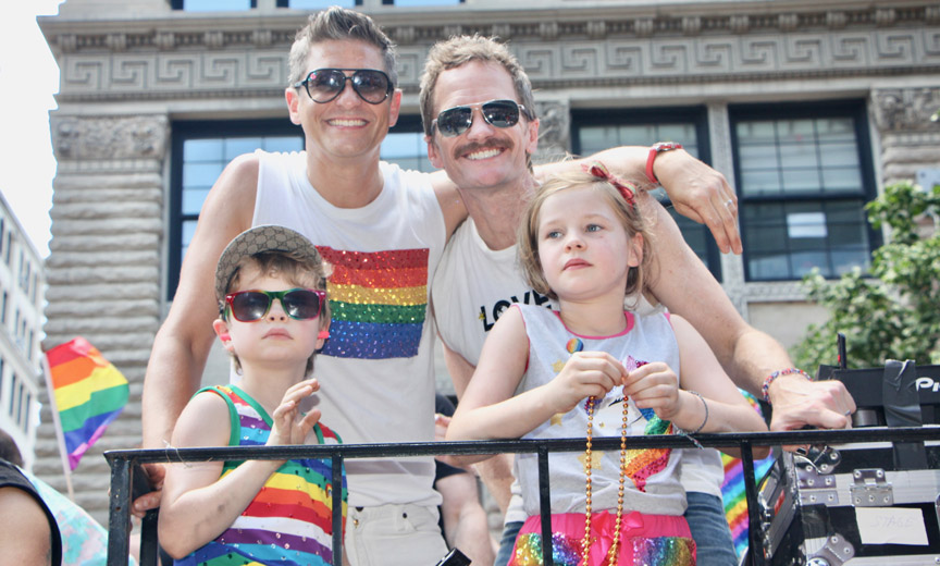 Family at Pride