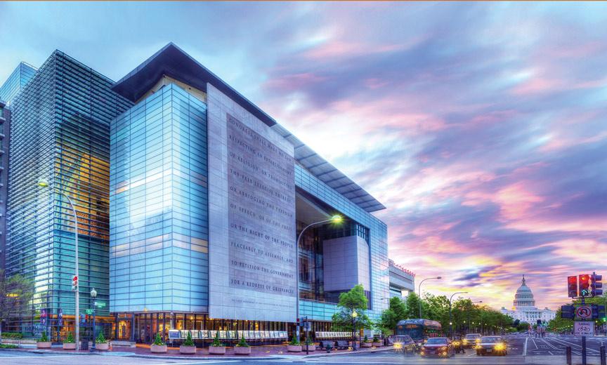 Newseum in Washington D.C.