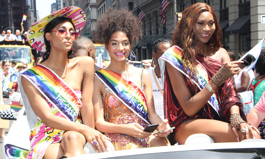 Pride Grand Marshals from the Cast of Pose